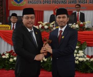 Edi Purwanto Ketua DPRD Provinsi Jambi Sementara