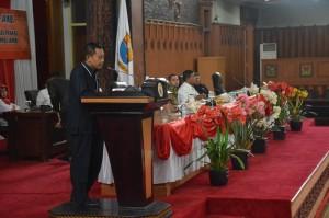 Fraksi DPRD Sampaikan Pemandangan Umum Terhadap Nota Pengantar Ranperda APBD Pemprov Jambi 2020