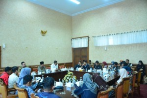 Pimpinan DPRD Provinsi Jambi Gelar Jumpa Pers Terkait Pembangunan Fly Over