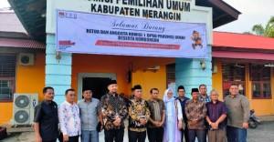 Pantau Kesiapan Pilgub 2020, Komisi I DPRD Provinsi Jambi Kunjungi KPU di Daerah