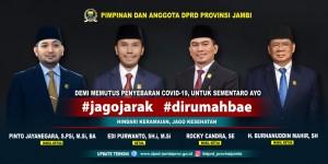 DPRD Imbau Masyarakat Kurangi Aktivitas di Luar Rumah