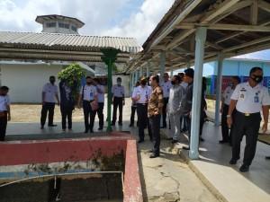 Kunjungi Lapas Jambi, Dewan Provinsi Berharap Persoalan Drainase Dapat Terselesaikan