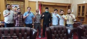 Terima Kunjungan JMSI, Edi Purwanto : Jadilah Media Penyeimbang, Sampaikan Suara Rakyat